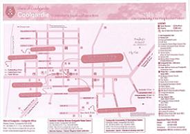 Coolgardie Map