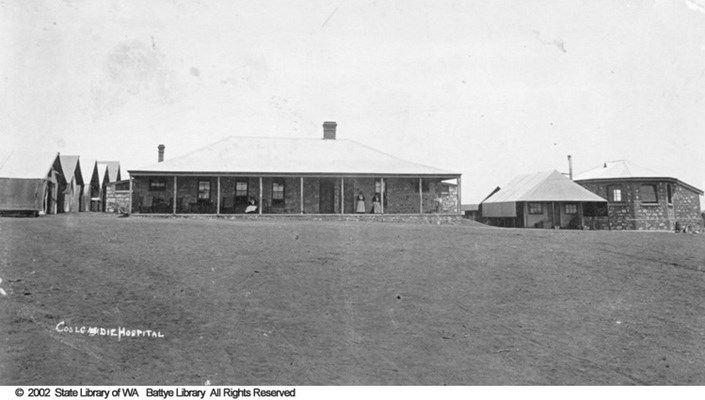 General - Coolgardie Hospital - Historical Image