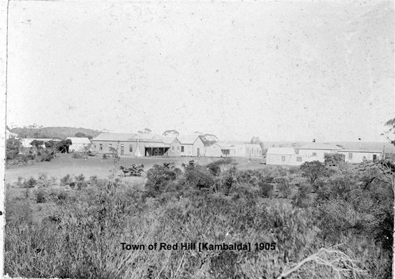 Kambalda - Town of Red Hill