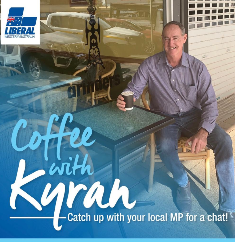 Catch up with Kyran O'Donnell MLA