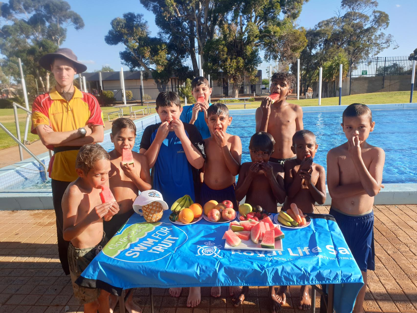 Swim for Fruit to benefit community