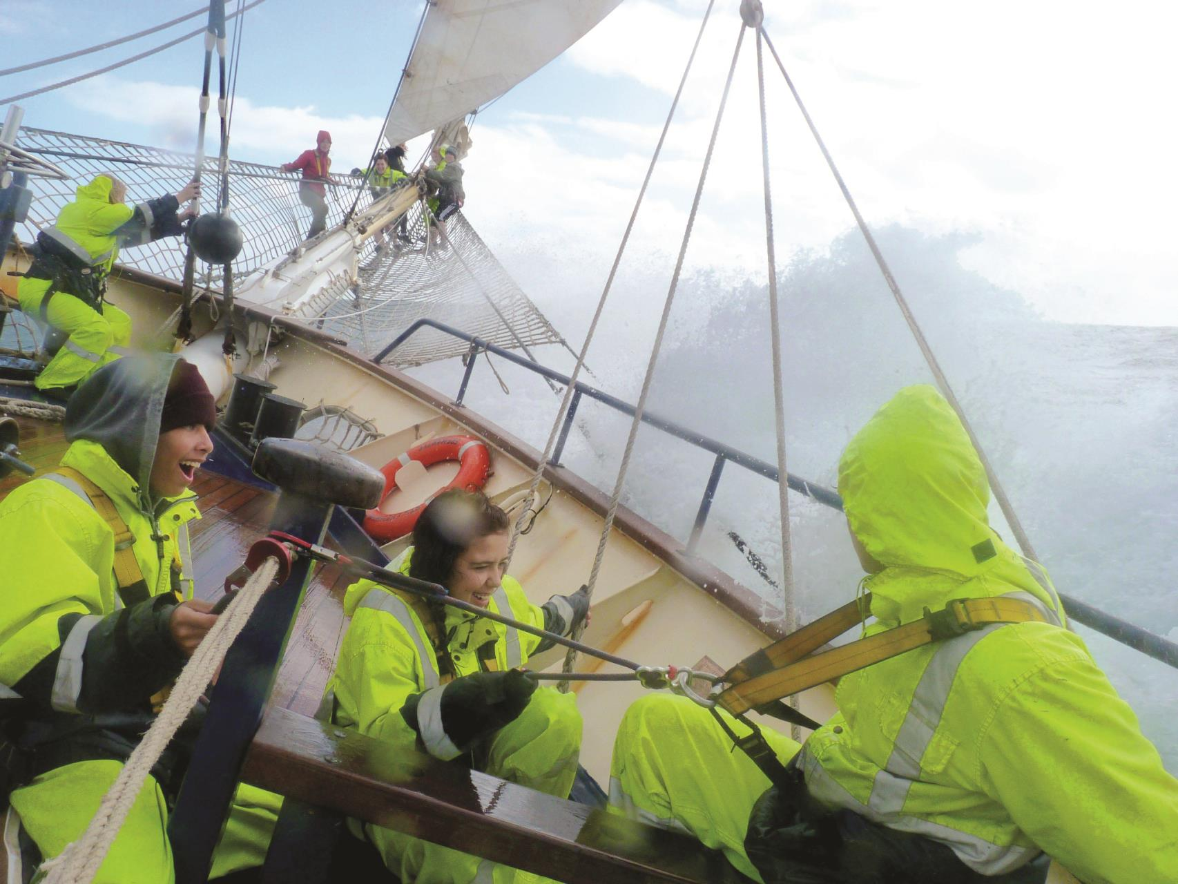 Sailing adventure opportunity for local youth